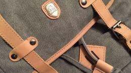 Serbags Canvas Travel Laptop School Backpack is Modern Vintage Greatness!