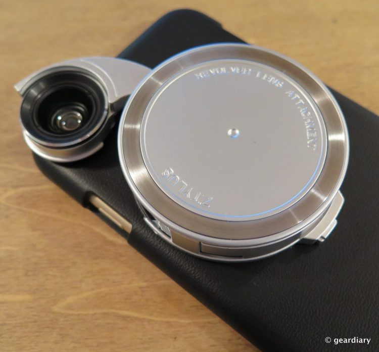 Ztylus Case with Revolver 4 in 1 Interchangeable Lens: iPhone Photography Perfected