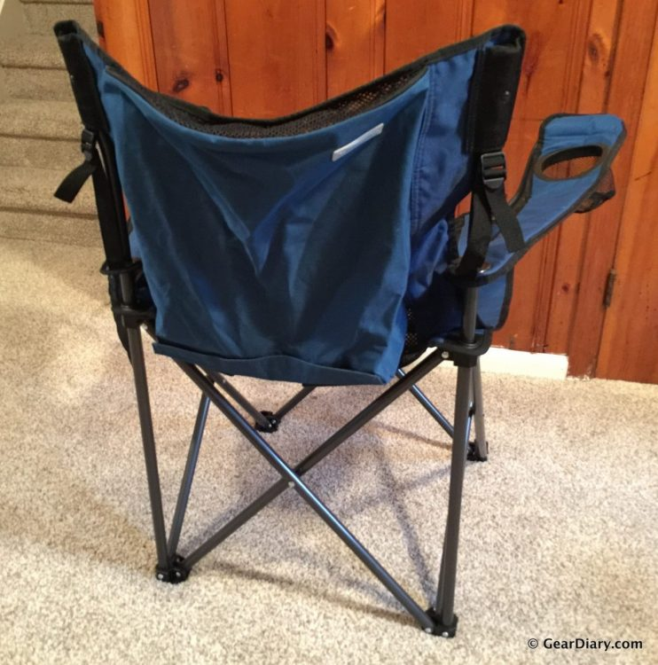 Traveling Breeze Fan-Cooled Camping Chair Is the Future in Outdoor Relaxation