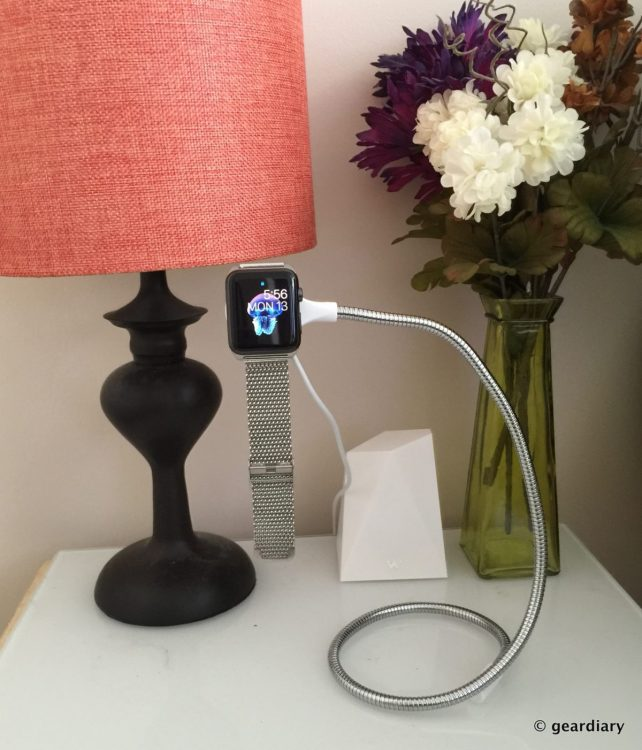 Fuse Chicken's Bobine Watch Dock for Apple Watch Is Great for Home & on the Go