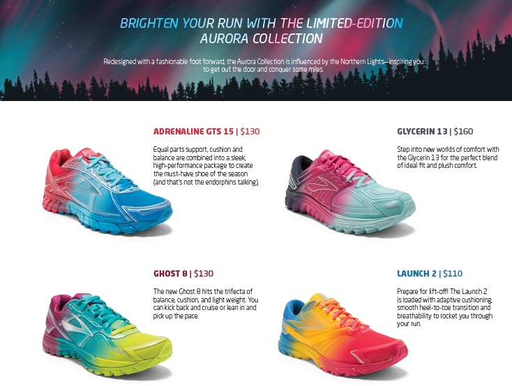 """Brooks Wants You to """"Run Happy"""" by Channeling the Aurora Borealis!"""