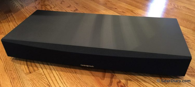 You Deserve the Cambridge Audio TV5 2.1-Channel Speaker Base