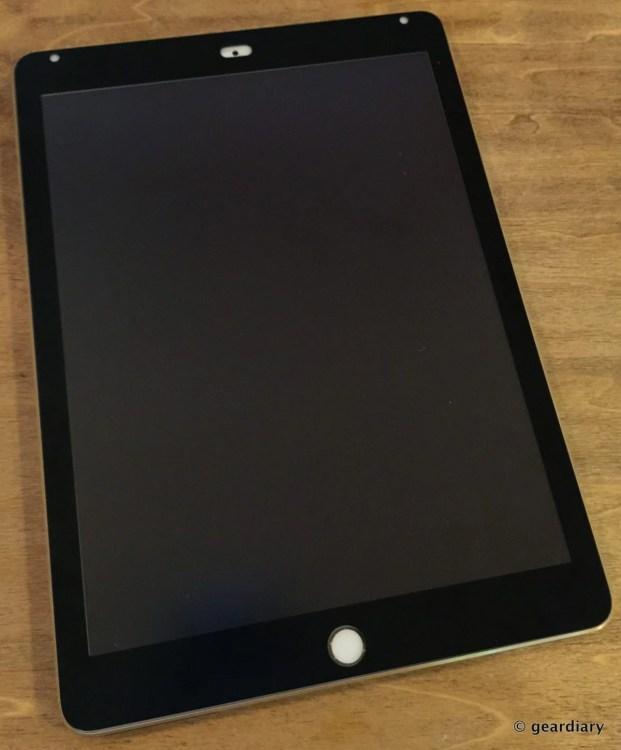 6-Gear Diary reviews the Moshi iVisor AG iPad Air 2 screen protector.30