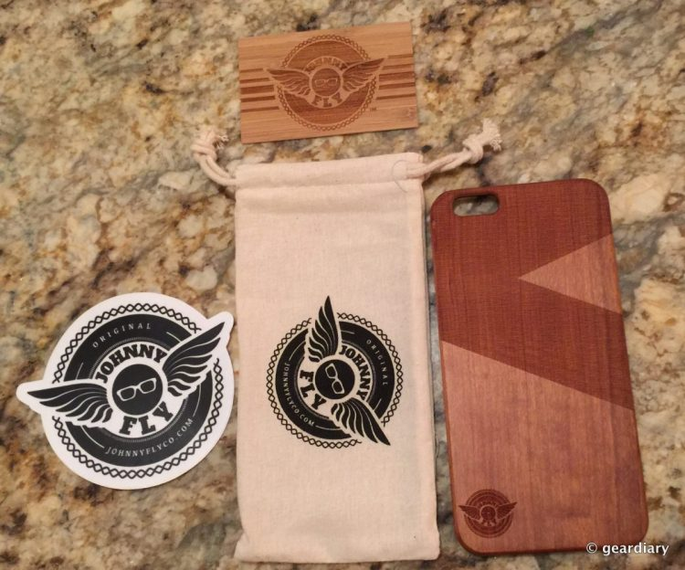 Set Yourself Apart from Everyone Else with Johnny Fly's Wooden Smartphone Case