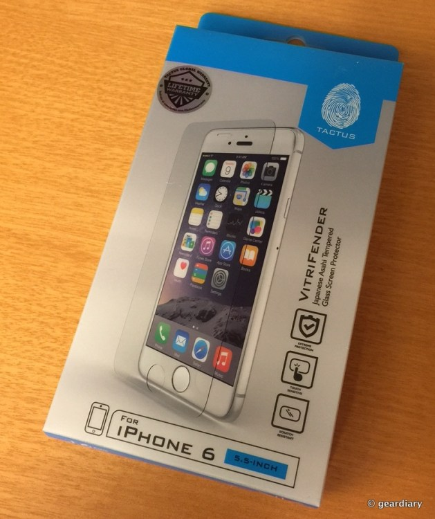 The VitriFender by Tactus Is the Thinnest Screen Protector for your iPhone 6 Plus