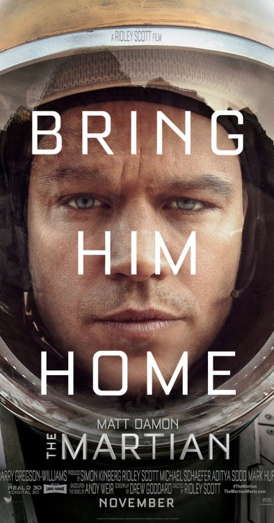 'The Martian' is Setting a High Bar with Amazing Trailers