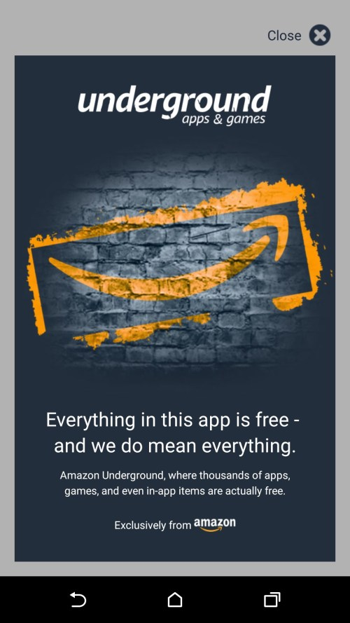 Amazon Underground Aims to Deliver Truly Free Apps