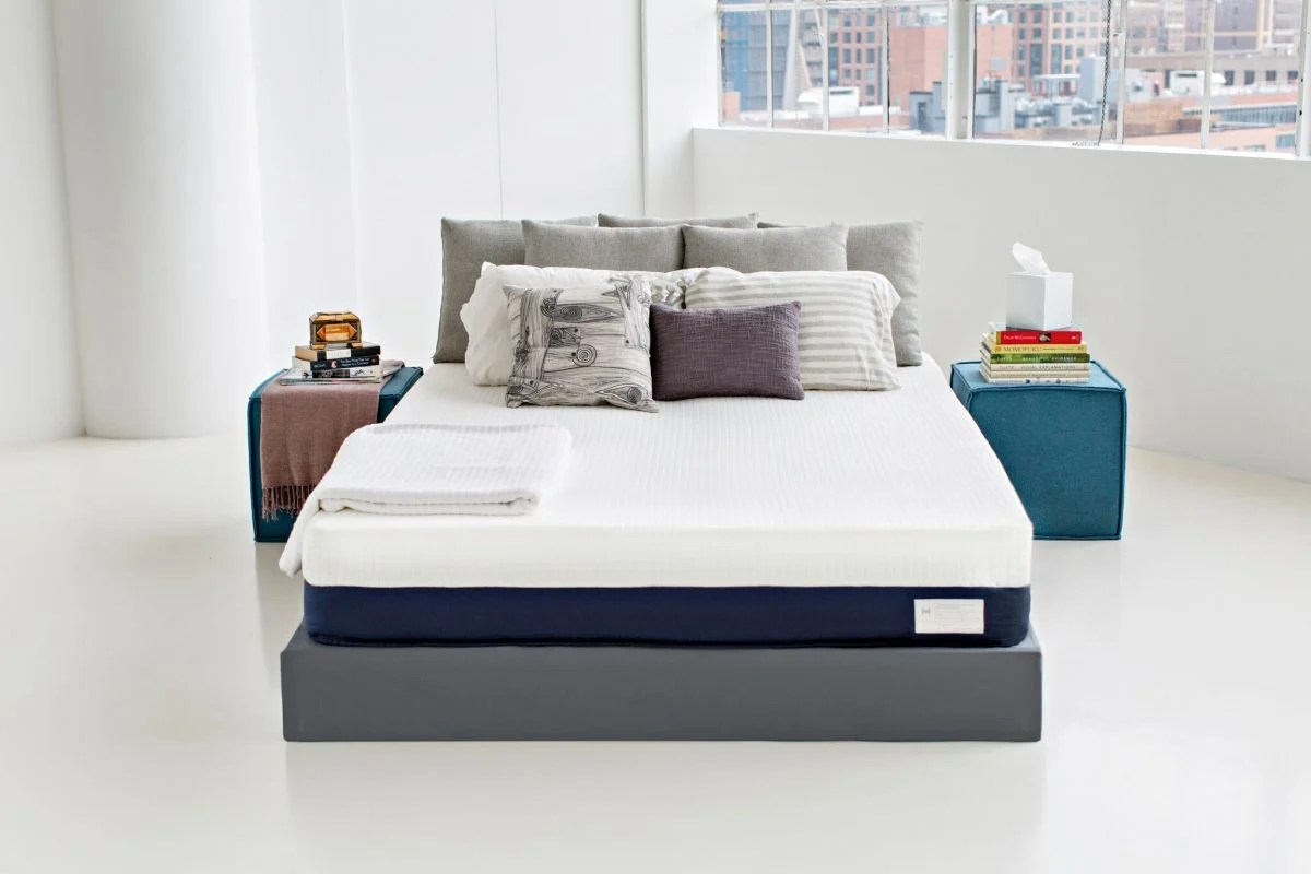 my first week with the new helix sleep mattress • geardiary