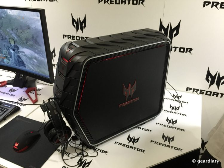 GearDiary New Acer Predator Computers at IFA - and a Deca-Core Phone!
