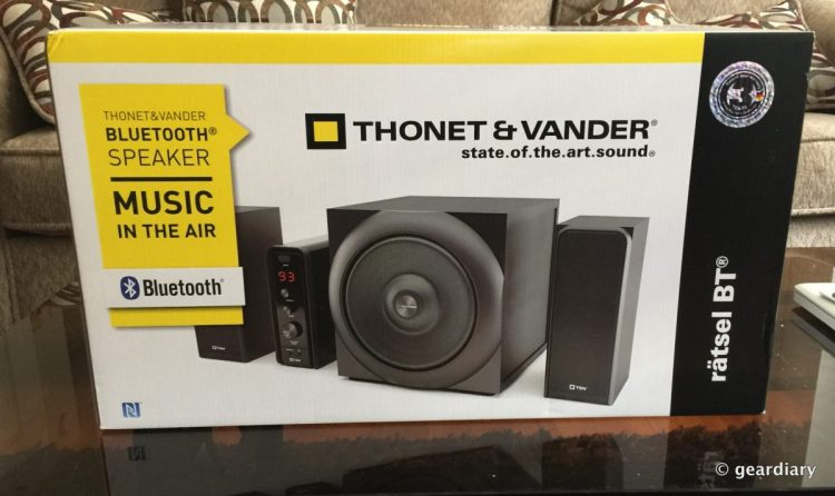 The Ratsel by Thonet & Vander Is A Good Budget Home Stereo System!