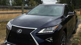 GearDiary The 2016 Lexus RX 350 F SPORT First Drive