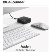 Bluelounge Aaden Charges Rechargables on the Go