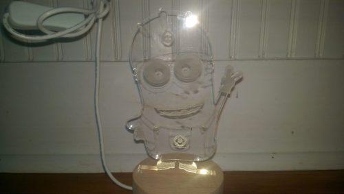 3D Cartoon LED Lamps Review