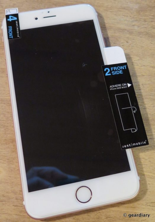 01-Just Mobile AutoHeal Screen Protector Is Clearly Scratch Resistant
