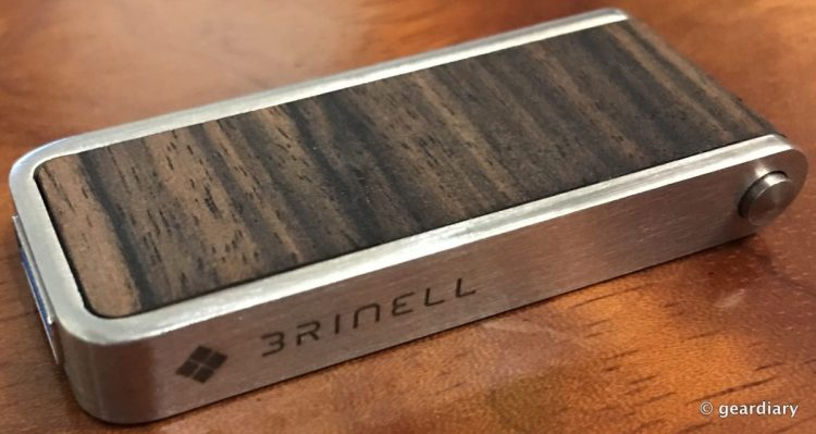 GearDiary The Brinell Stick Single Action Wood USB 3.0 Flash Drive: Fast and Beautiful