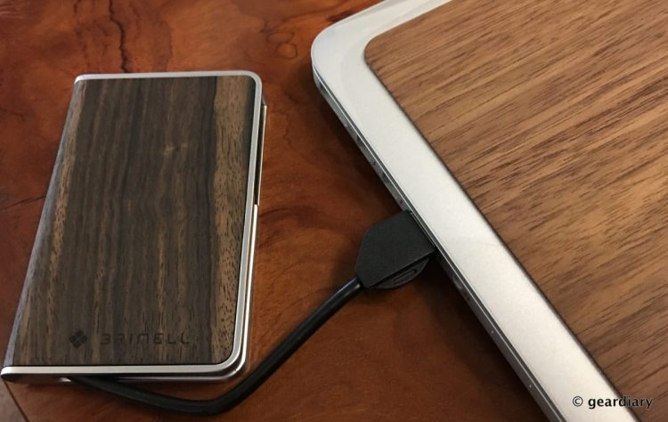 The Brinell SSD EVO Wood 250GB External Drive Makes Your Portable Drive Look Ugly and Slow