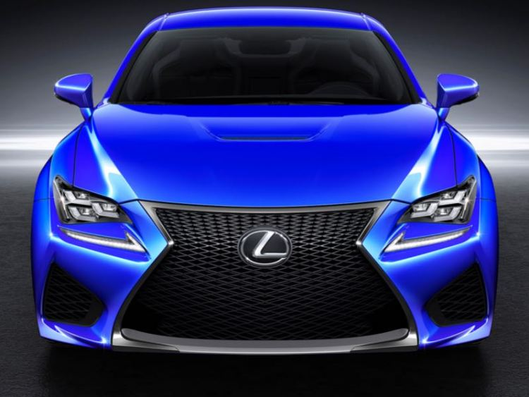 2015 Lexus RC F at Home on Street or Track
