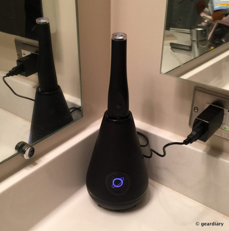 Cleanliness Is Next to Your Bathroom Sink with the Aura Clean Toothbrush