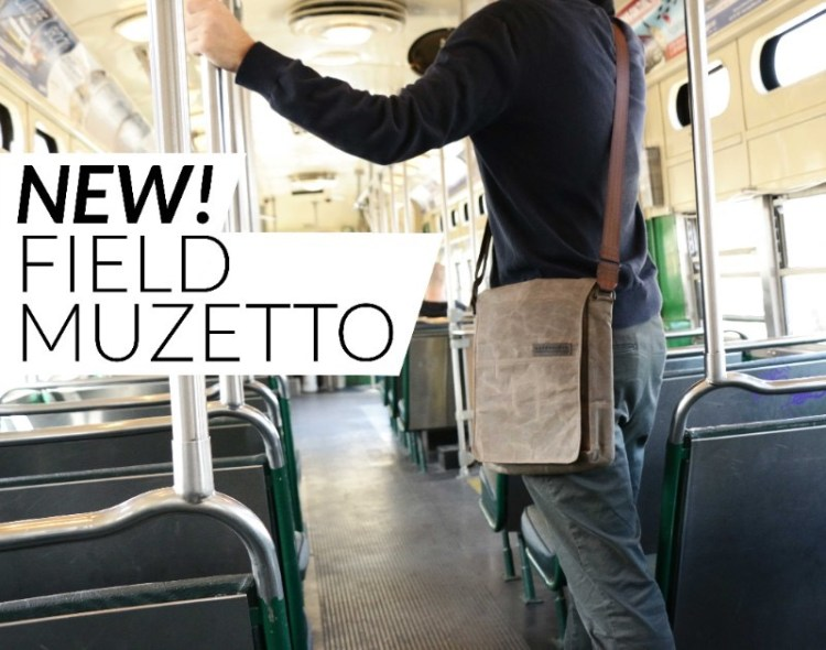 WaterField Announces the Field Muzatto in Three Convenient Sizes