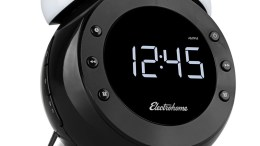 The Electrohome Retro Alarm Clock Radio Shines on My Night Table