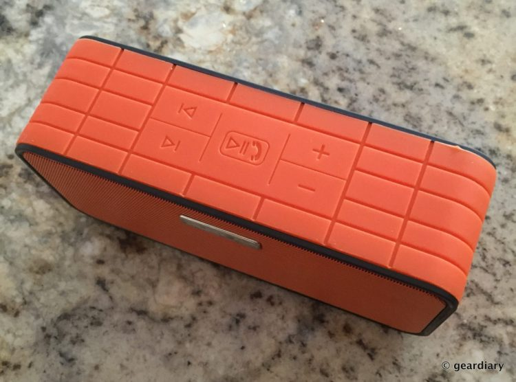 The MC Brick Bluetooth Speaker Has NFC Technology and Great Sound