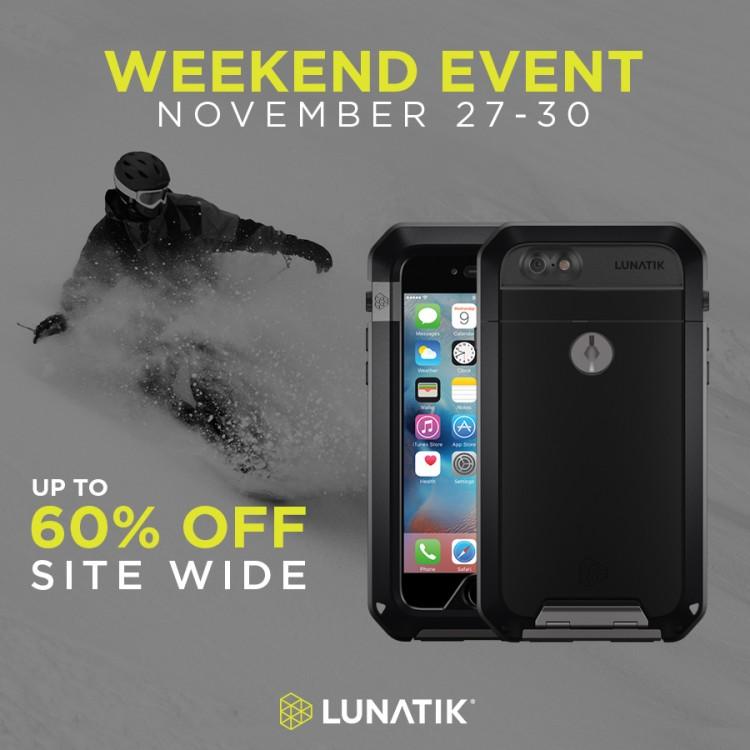 LUNATIK Black Friday Weekend Event
