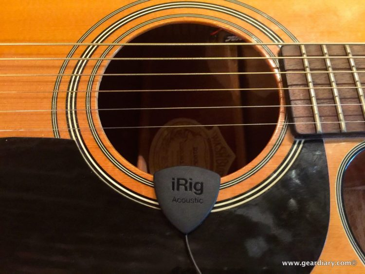 GearDiary iRig Acoustic Makes Mobile Guitar Recording Possible