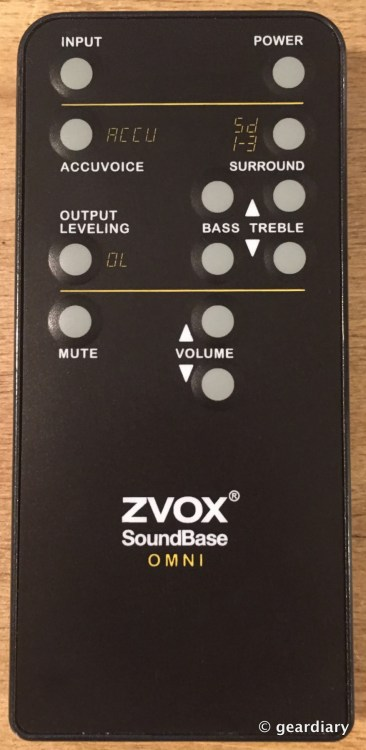 1-ZVOX SoundbarSB400 remote