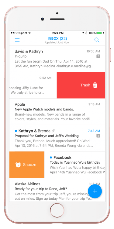'Email' by EasilyDo Is the Closest We Will Ever Get to the 'MailBox' App Again
