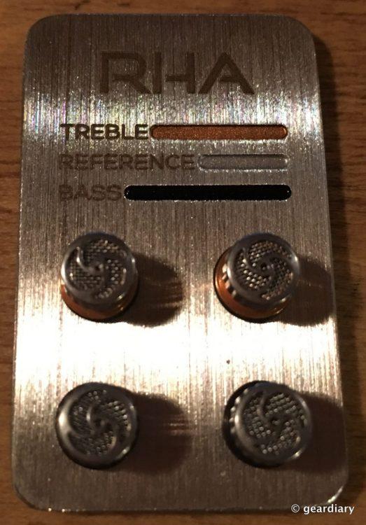 1-RHA T20 tuning filters