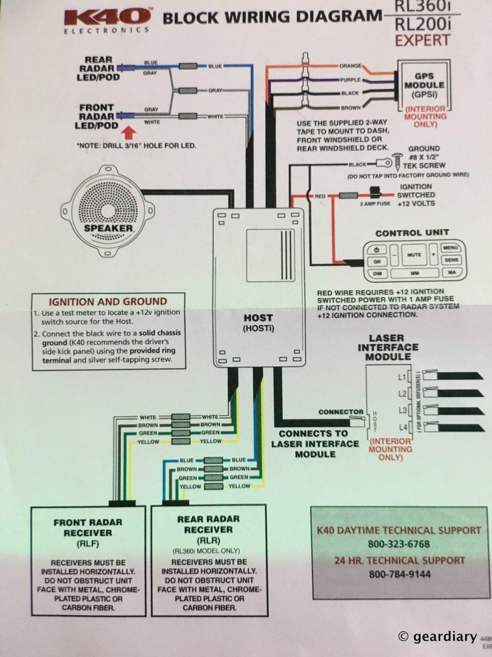 medium resolution of 08 the k40 rl360i custom installed radar detector 49 u2013 geardiary08 the k40 rl360i custom