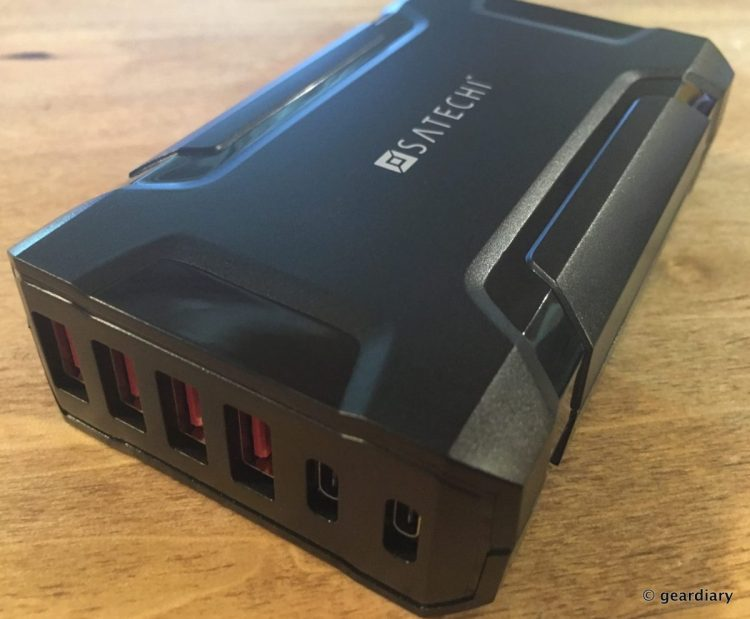 GearDiary The Satechi 60W Multi-Port USB Charging Station: USB Type-A and Type-C Ports Galore
