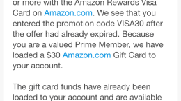 Miss Out on Amazon Reward Visa $30 Offer? Maybe Not!