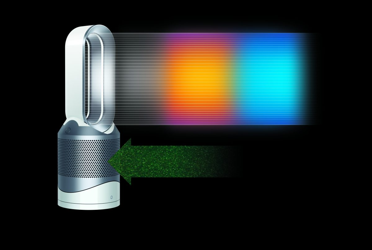 dyson pure hot cool link intelligent purification heat. Black Bedroom Furniture Sets. Home Design Ideas