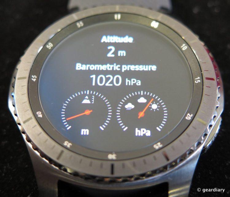 Samsung Gear S3 SmartWatch.44-001