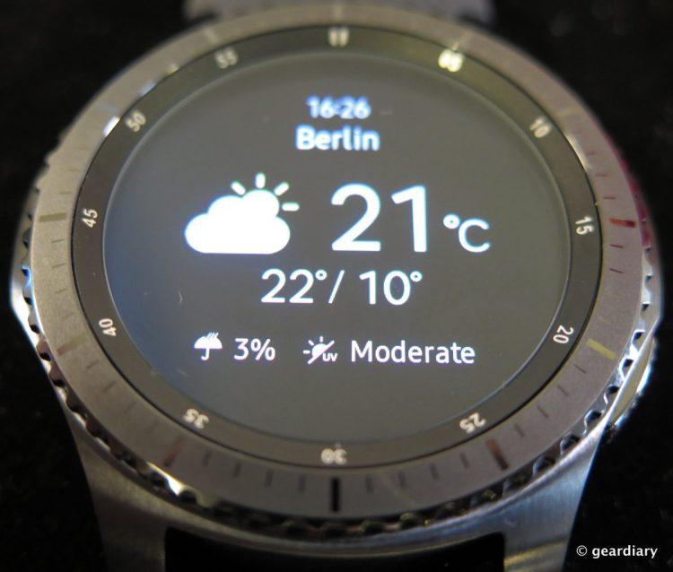 Samsung Gear S3 SmartWatch.49
