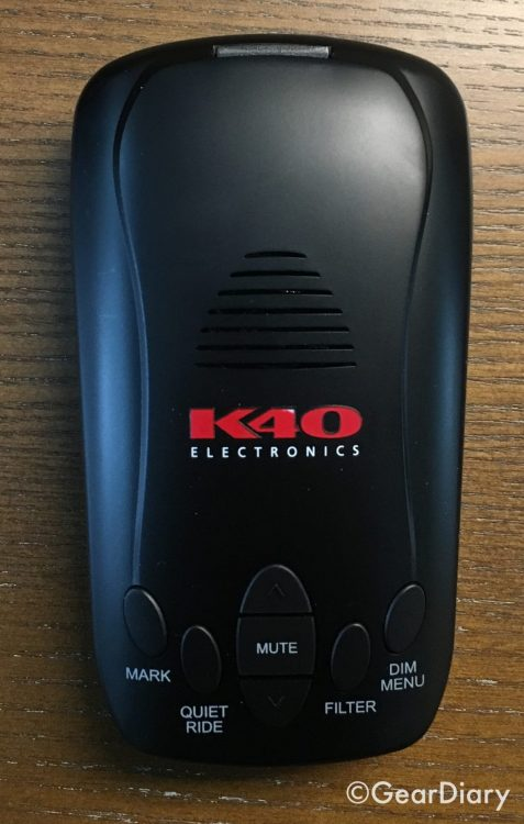 The K40 RLS2 Radar/Laser Detector Will Keep the Tickets at Bay