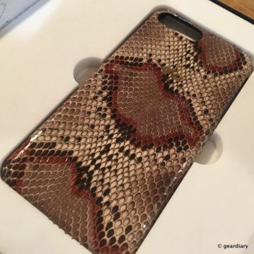 GearDiary Moodz Concept iPhone 7 Plus Python Case: The Epitome of Custom, Hand-Made Luxury