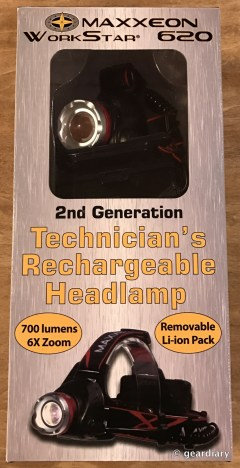 The Maxxeon WorkStar 620 Technician's Rechargeable Hands-Free Headlamp Review  The Maxxeon WorkStar 620 Technician's Rechargeable Hands-Free Headlamp Review