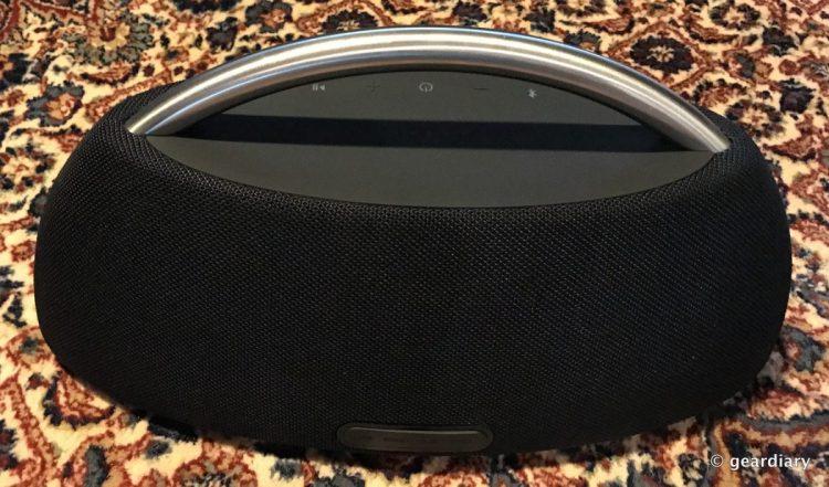 the harman kardon go play portable bluetooth speaker. Black Bedroom Furniture Sets. Home Design Ideas
