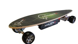 The Maverix Urban Spirit Electric Skateboard Is a Blast to Ride