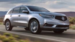 2017 Acura MDX Gets New Face, New Content