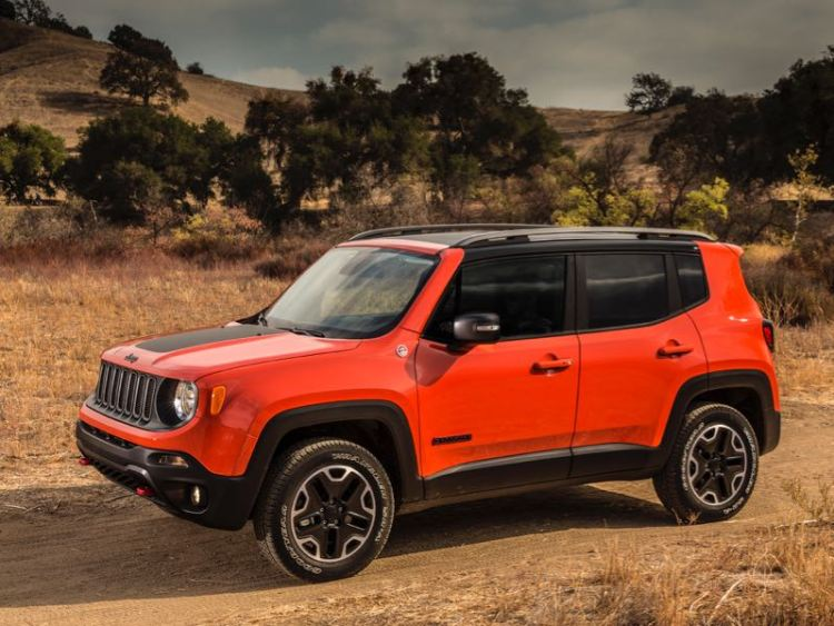 2016 Jeep Renegade Trailhawk Is a Surprise New Little Hit