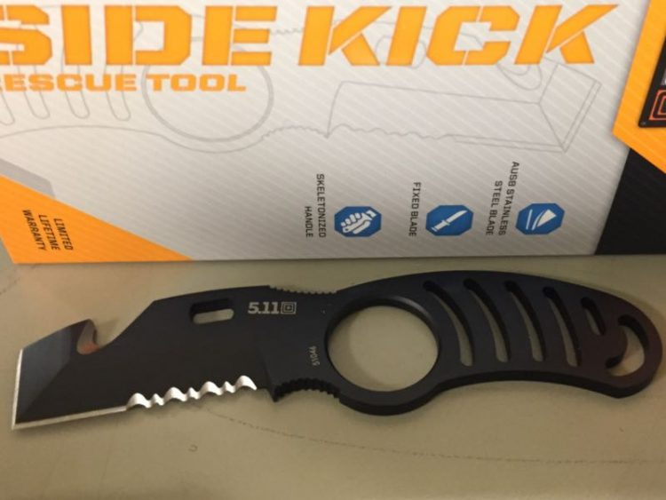 Side Kick Rescue Tool From 5.11 Tactical a Great Everyday Utility Knife