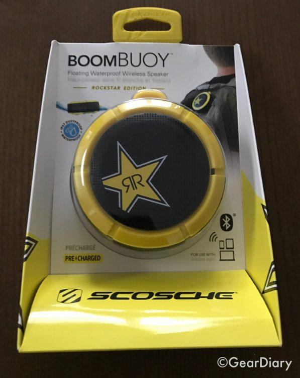 Scosche BoomBuoy Rockstar Pocket-Sized Speaker Floats Like a Butterfly