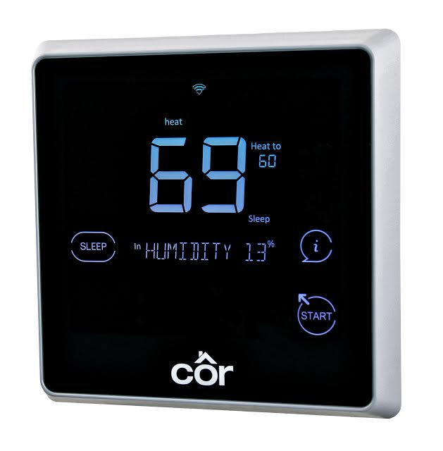 Carrier Cor Smart Thermostat Now Works with Apple's HomeKit