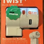 Oneadaptr Twist+ World Adapter DUO: Ready for Travel