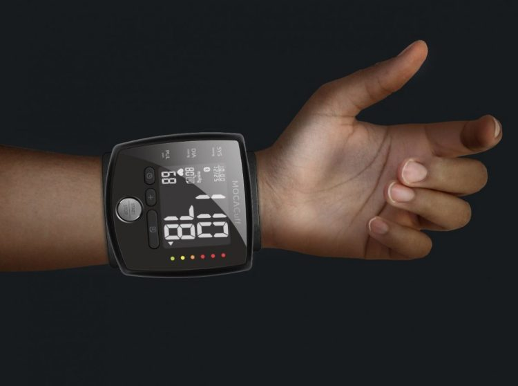 MOCAcuff Wrist Monitor Makes Blood Pressure Checks Simple
