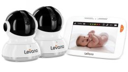 "Levana's Willow 5"" Touchscreen Baby Monitor is the Cream of the Crop"