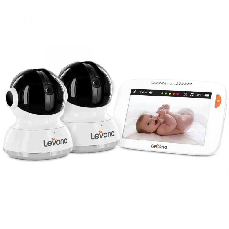 """Levana's Willow 5"""" Touchscreen Baby Monitor is the Cream of the Crop"""